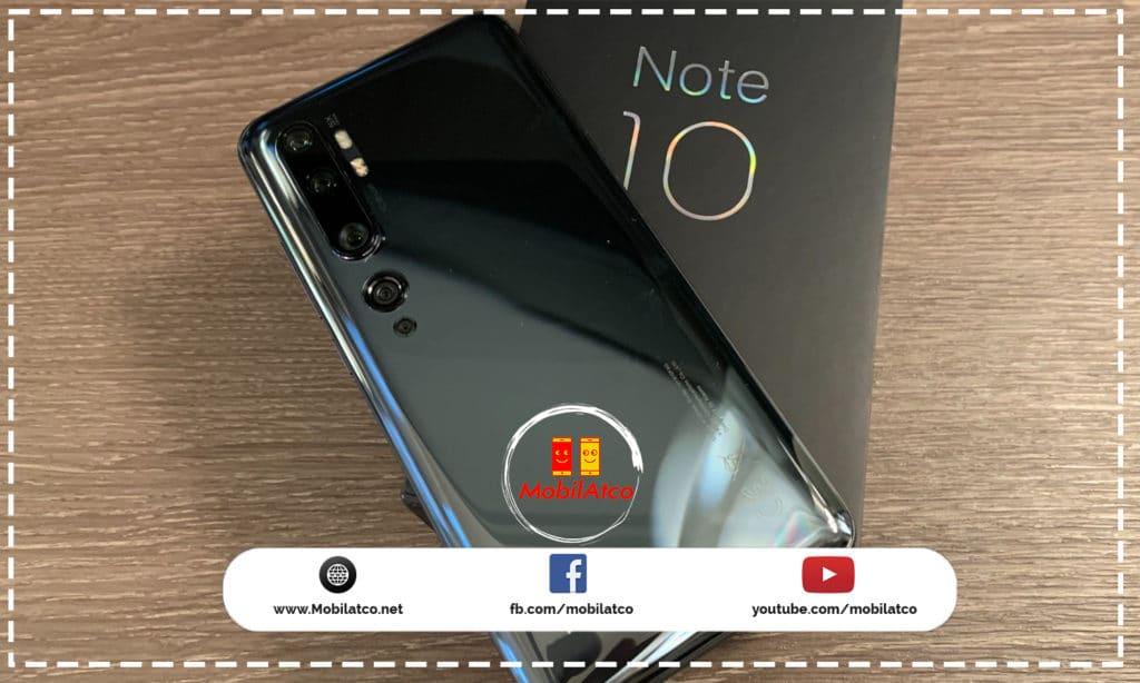 سعر ومواصفات Xiaomi Mi Note 10